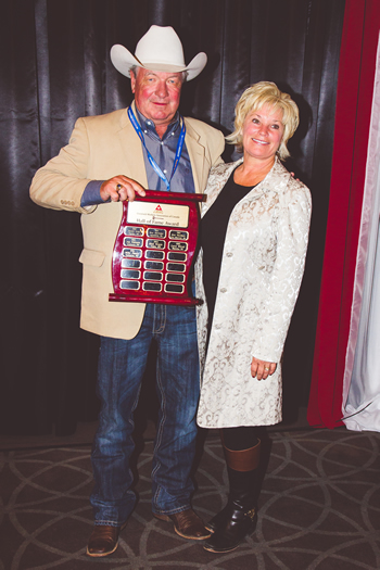 Blair and Cheryl Vold at Lethbridge, Alberta